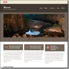 html5-template-responsive-brownie