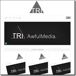 html5-template-triangle-responsive
