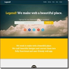 legend-free-responsive-one-page-template