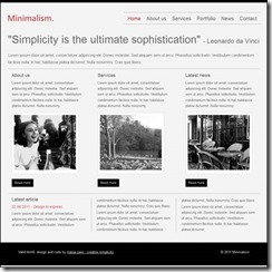minimalism-html5-and-css3-template