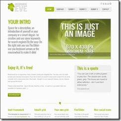 response-eve-html-template