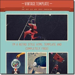 vintage-html-template