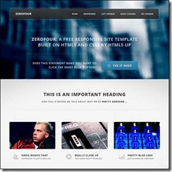 zerofour-free-css3-html5-template-download